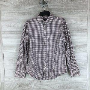 1901 Trim Fit Check Dress Shirt